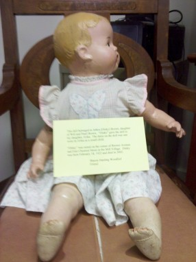 Erica's doll
