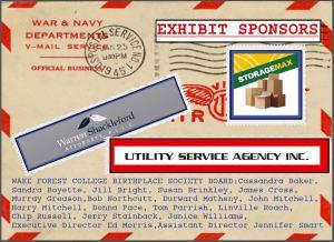 WWII Exhibit Sponsors