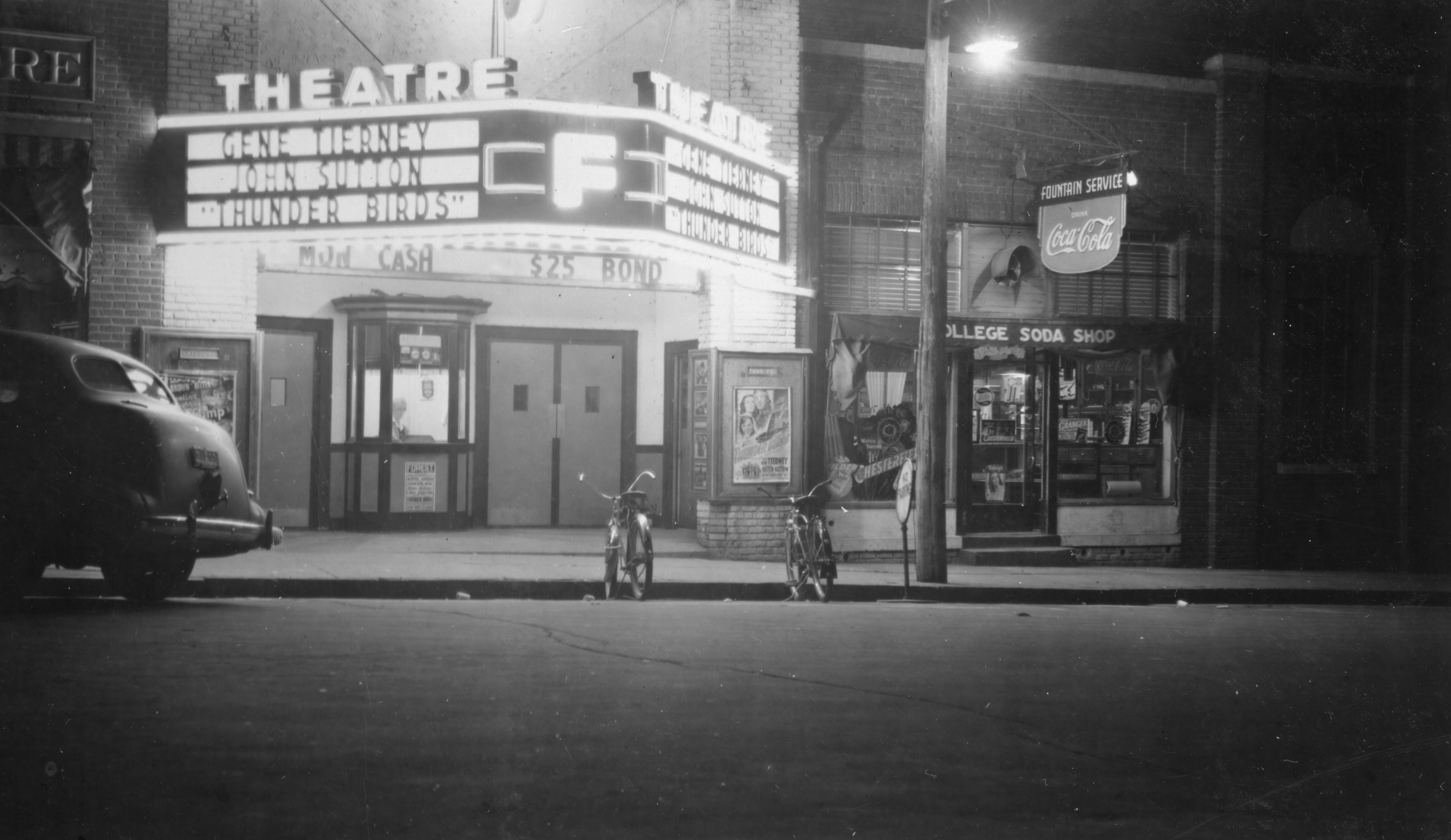 The Movie Theaters   Wake Forest Historical Museum Open ...
