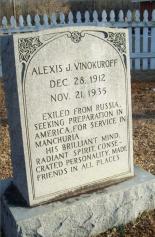 Vinokuroff Gravesite