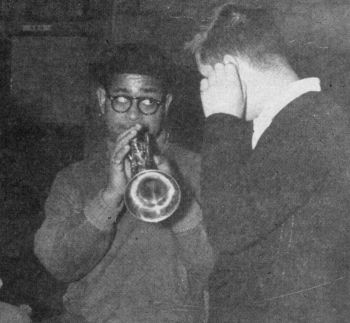 Dizzy Gillespie - crop