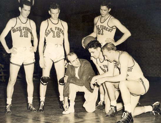 Coach Greason and Team, 1940