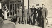 Soldiers on White Street, 1942