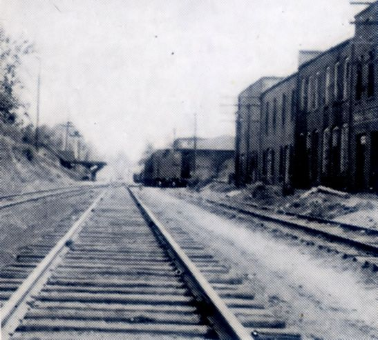 1937 Railroad Tracks