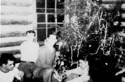Fraternity Christmas, ca. 1940